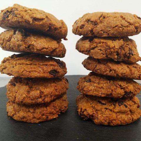 Oatmeal Raisin Cookies (GF)